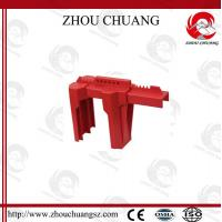 Buy cheap Colorful PP Red Adjustable Ball Valve Lockout for Safety Lockout from wholesalers
