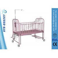 Wholesale Steel Manual Hospital Pediatric Bed With Back And Leg Function from china suppliers