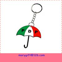 Quality customized PDP names PVC key chains for sale