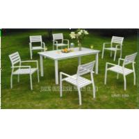 Wholesale Outside Patio Furniture Sets Metal Patio Table And Chairs Set UV Resistance from china suppliers