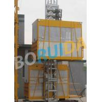 Wholesale Ramp Door Style Construction Material Lifting Hoist , Construction Lifting Equipment from china suppliers