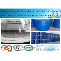 Wholesale CAS 67-63-0 Iso Propyl Alcohol Organic Compound C3H8O Clear Colorless Liquid from china suppliers
