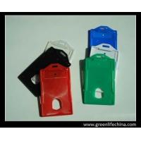 Wholesale Colorful rigid plastic vertical fashion ID badge holder good card holder for credit card from china suppliers