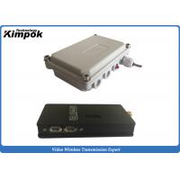 Quality 100km LOS UAV Video Transmitter Wireless 5000mW Long Distance Audio Video Transmitter for sale