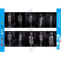Wholesale Black PC Full Standing Female Mannequin Real Makeup with Wooden Base from china suppliers