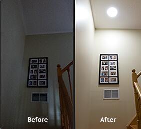Innovative Solar Powered LED Skylight , Roof Mounted LED Ceiling Lights
