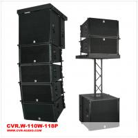 Wholesale 10 inch Line Array \Church Sound Speaker \Black Cabinet Club With Truss Sound \Passive Hang Line Array from china suppliers