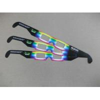 Wholesale Custom PVC / PET paper frame tv 3d fireworks glasses for promotion from china suppliers