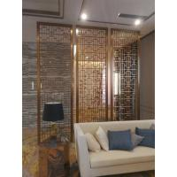 Buy cheap New design decorative metal panels stainless steel screen for wall panels for partition application from wholesalers