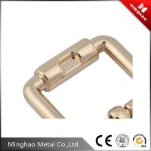 Quality Double metal pin belt buckle,metal zinc alloy die casting belt buckle 16.37*13mm for sale