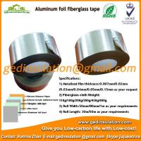 Wholesale Aluminum-Foil Coated Fiberglass Insulation adhesive Tape from china suppliers