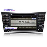 Wholesale 7Inch Touch Screen Car Stereo DVD Player SAT NAV for Mercedes from china suppliers