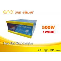 Wholesale CE off grid Solar Inverter Online DC12v AC 220v/230v 500w 1000W from china suppliers