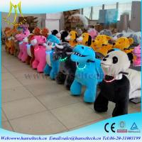 Wholesale Hansel children indoor amusement park kidds ride electric riding aniamls happy rides mountable kids animal scooter ride from china suppliers