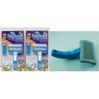 Wholesale Pet Zoom Self Cleaning Grooming Brush One Touch Brush Petzoo from china suppliers