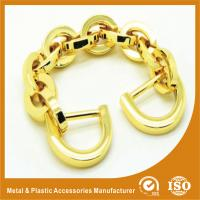 Wholesale Light Gold Aluminum Handbag Metal Chain , Purse Security Chain from china suppliers
