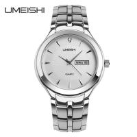 Wholesale 5 ATM Waterproof Stainless Steel Quartz Watch Japanese Battery Movement from china suppliers