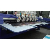 Wholesale Low Vibration Commercial Embroidery Sewing Machine With Automatic Color Changing / Trimming from china suppliers
