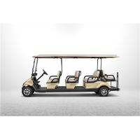 Wholesale Max Speed 25Km/h Electrical Golf Carts With CE Certification For 8 Passengers from china suppliers