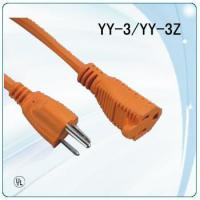 Wholesale 125V colorful UL plug socket round wire extension cords from china suppliers