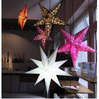 Wholesale Christmas ornament gift five star from china suppliers