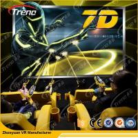 Wholesale Electric Video Game 7d Cinema Simulator With High Definition Movie from china suppliers