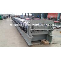 Wholesale 8 - 12 m / min Floor Deck Roll Forming Machine For 1.2mm Thickness Galvanized Steel from china suppliers