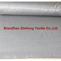Wholesale 100% RF silver anti-static silver-plated fabric for pregnant garment from china suppliers