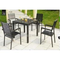 Wholesale Outdoor / Indoor Patio Garden Furniture Sets , Garden Table And 4 Chairs from china suppliers
