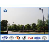 Wholesale 6m - 11M Height Outdoor Parking Lot Light Poles 160km / h Wind Speed from china suppliers