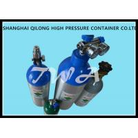 Quality High Pressure Aluminum Gas Cylinders 0.22L-50L For Industrial Gases Or Specialty Gases for sale
