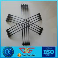Wholesale hdpe material plastic uniaxial geogrid with high strength for road from china suppliers
