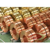 Wholesale Thin Insulated Electrolytic Copper Foil Roll , Copper Sheet Metal from china suppliers