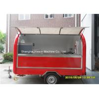 Quality Outdoor Fast Food Concession Trailers Truck Van BBQ Vending  Pizza Cart for sale