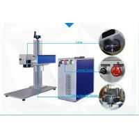 Wholesale 10W and 20W Fiber Laser Marking Machine for Tools black and deep marking from china suppliers