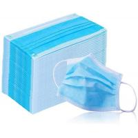 Wholesale Disposable 3 Ply Non Woven Face With Adjustable Nose Piece CE FDA Certified from china suppliers