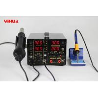 Wholesale YIHUA853D 30V 5A SMD Rework Station with Soldering Station and DC power supply from china suppliers