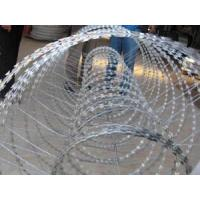 Wholesale Building / Yard Security Barbed Wire Fencing Sun Resistant Neat Appearance from china suppliers