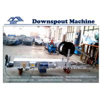 Wholesale 0.3-0.8mm Thickness PPGI Aluminium Downspout Roll Forming Machine from china suppliers