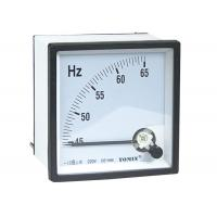 Wholesale High Precision Panel Analogue Meter , Frequency Meter With Glass Window from china suppliers