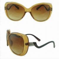 Wholesale Popular Sunglasses, Modern Design, Made of Plastic, Various Colors are Available from china suppliers