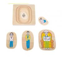 Wholesale Montessori Materials - Life Cycle of Man Dimension: 15*15*2cm from china suppliers