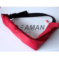 Wholesale 110N Manual Waist Bag Inflatable Life Belt PFD For Swimming , Boating , Sailing from china suppliers