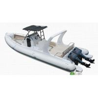 Wholesale Orca Hypalon inflatable rib boat 960cm 20 persons safety with large console from china suppliers