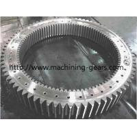 Buy cheap Mining Machinery Big Internal Gear Ring Stainless Steel Gears 0.03mm Tolerance from wholesalers