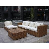 Wholesale Indoor / Outdoor Rattan Furniture , Cane Corner Sofa For Meeting Room from china suppliers
