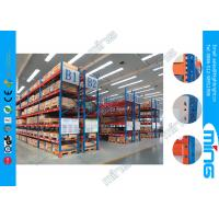 Wholesale OEM Powder Coating Pallet Storehouse Storage Racks , Heavy Duty from china suppliers