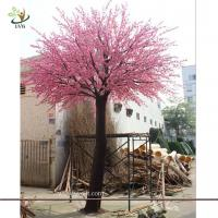Wholesale UVG wedding planner in china pink faux trees in peach blossoms for wedding decoration from china suppliers