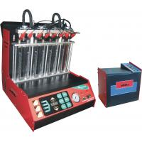 Wholesale Automotive Engine Carbon Fuel Injector Cleaning Machine , 8 Cylinders Injectors from china suppliers