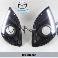 Wholesale Mazda 2 DRL LED Daytime Running Lights auto front light aftermarket from china suppliers